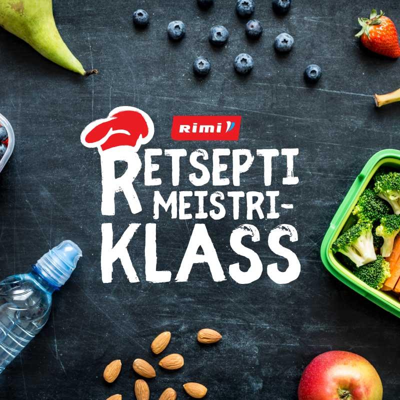 Rimi Retsepti Meistriklass 2018