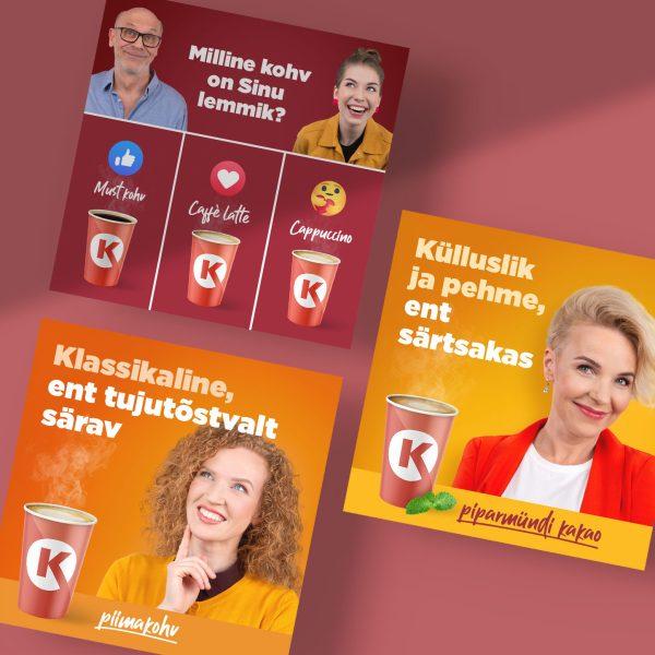 Circle K Kohvinäo kampaania