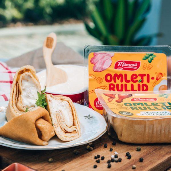 Mamma omletirullid
